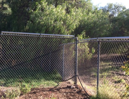 Coyote Roller Fence Chainlink Fence Company San Diego